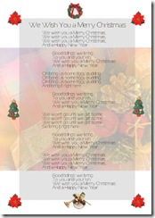 英語歌歌詞I-wish-you-a-merry-christmas